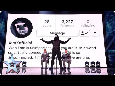 X Proves The Impossible In This MIND-BLOWING Performance   Semi-Finals   BGT 2019