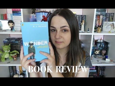WONDER By R.J Palacio   Book Review