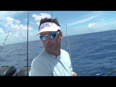 Season 7: Ep. 2 Peter takes Leo from Make-A-Wish out of Hawk's Cay-swordfish, tuna, dolphin, shark