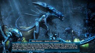 Alien vs Predator Evolution Alien Mission 1 Queen's Chamber