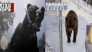 Erzurum Physics vs Red Dead Redemption 2 Physics
