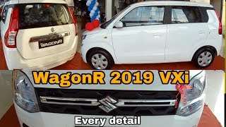 Maruti Suzuki WagonR 2019 VXi detailed Video | Jeet Patel