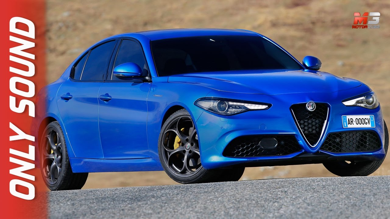 new alfa romeo giulia veloce 2017 - first test drive only sound