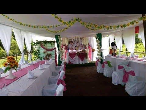 Home-based Wedding Venue Decoration | Trader Skirting Design