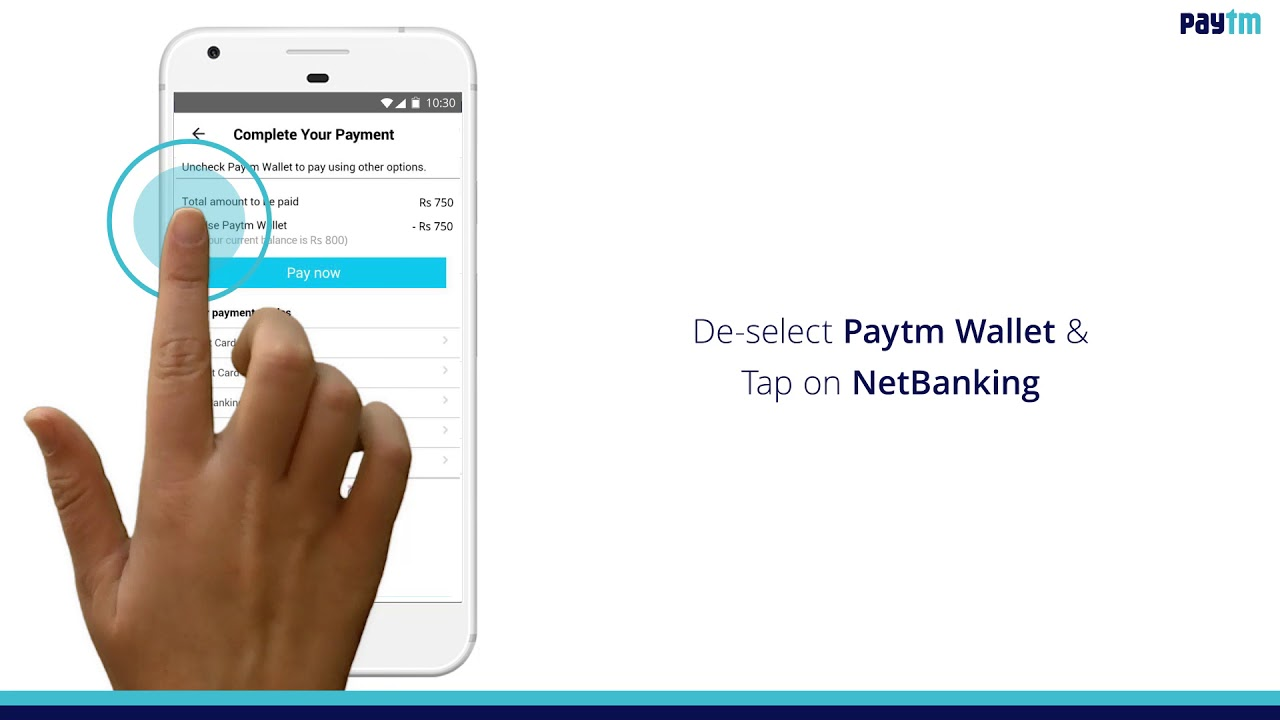 Steps to pay your Water Bill using Paytm App