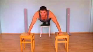 Как быстро накачать грудные мышцы дома  Отжимания с широкой постановкой рук  Обучающее видео(, 2013-08-13T12:41:48.000Z)