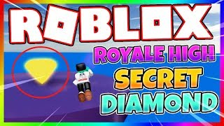 Royale High School - (NEW) SECRET 1 MILLION DIAMOND - Roblox Glitch