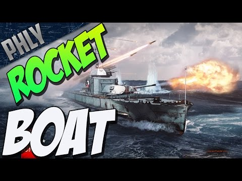 War Thunder Ships - ROCKET SHIP Project 1124 (War Thunder Naval Forces)