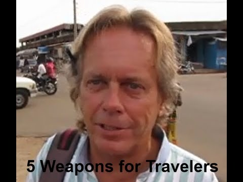 5 Weapons Available to Adventure Travelers