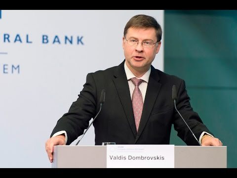 ESRB Conference Keynote speech: Valdis Dombrovskis, European Commission