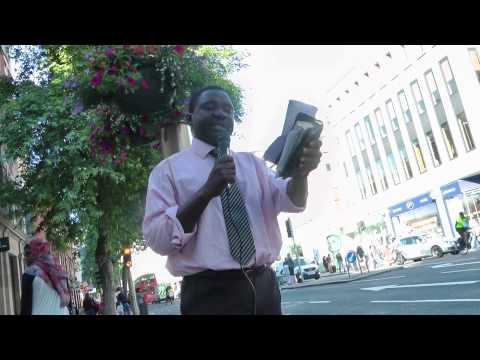 Slave Trade Crime debate has reached global dimensions, Andy Lumeh London SW7 ,Evangelist
