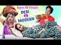 - Types of people DESI & MODERN  | ShrutiArjunAnand
