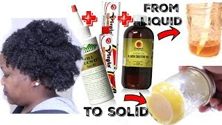 Check out how I mix my Hair Growth Oils JBCO, Wild Growth Oil & Virgin Hair Fertilizer