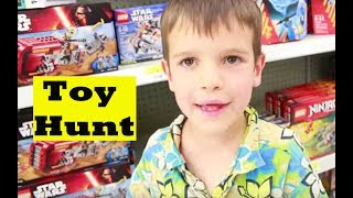 toy shopping too many babies toy hunt christmas presents legos frozen baby dolls shopkins star wars