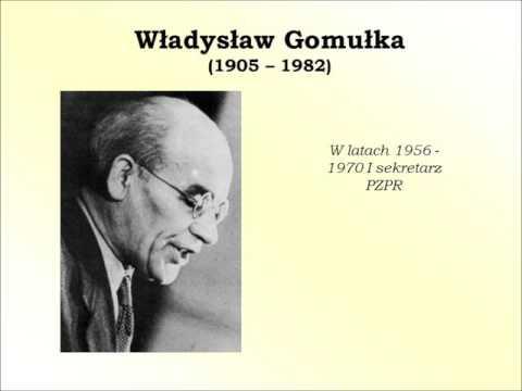 Historyczne spory Władysław Gomółka