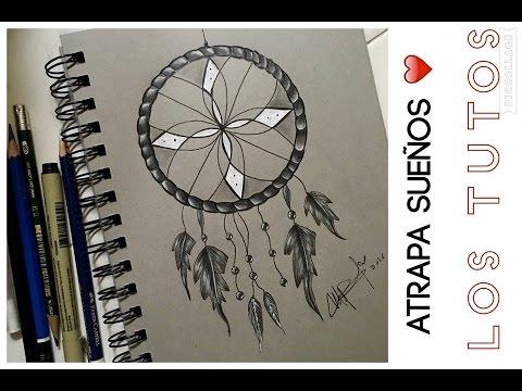 Como Dibujar Un Atrapa Sueños A Lapiz Paso A Paso How To Draw