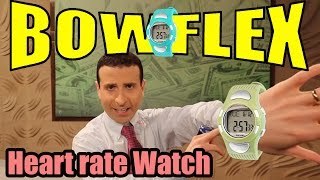  Bowflex Heart Rate Watch review ◄ UNDER $20!