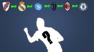 Quiz de futebol - Consegue adivinhar o jogador pelos times que ele já jogou ? 6