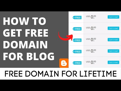 How to get free domain for blogger in 2020 for lifetime