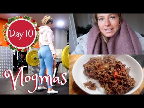 FAT BURNING BOOTY WORKOUT & ORGANISING MY WARDROBE | Vlogmas Day 10