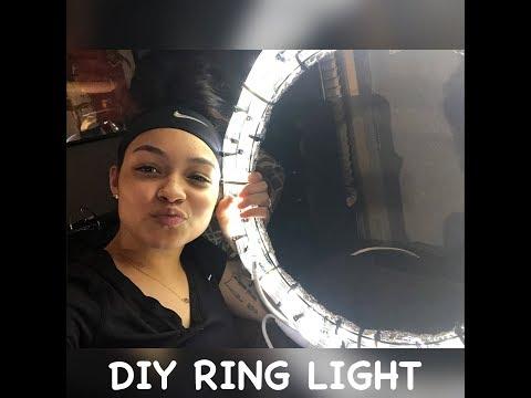 DIY RING LIGHT :)