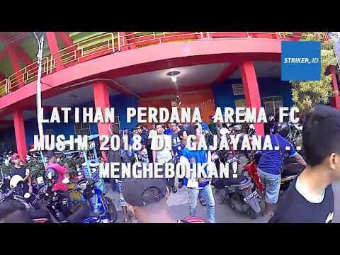 Arema FC Latihan Perdana Di Stadion Gajayana Malang, Begini Keseruannya