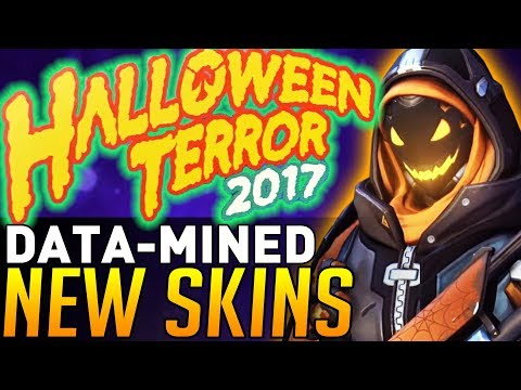 Overwatch | New Event Items DATA-MINED! (Halloween Terror 2017)
