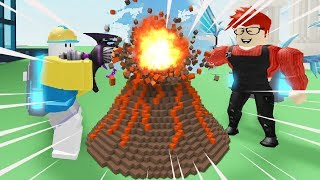 Roblox 💀 Destruction Simulator | Challenge the house with Fan | MinhMaMa