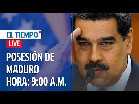 La posesión de Maduro como presidente de Venezuela