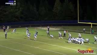Atlee vs Freeman - Football Highlights - 9/21/12
