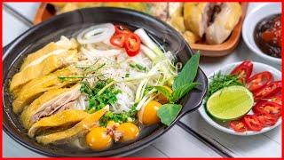 Cách nấu PHỞ GÀ ngon tuyệt với bí quyết Vỏ Chanh của Cô Ba | Vietnamese Chicken Pho Secret