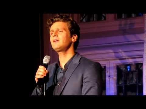 "Jonathan Groff Singing ""Left Behind"" from Spring Awakening Live at The Cabaret"