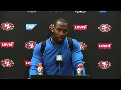 49ers Vs Cardinals Postgame Press Conference - Anquan Boldin