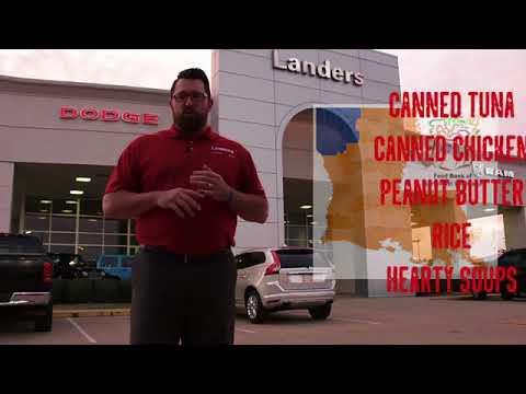 Landers CDJR Bossier City, LA | Food Bank Food Drive Bossier City, LA