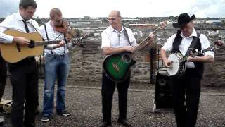 """Hello Mary Lou"" performed by  Down And Out Bluegrass Band at Maiden City Festival 2011"