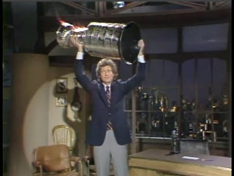 Stanley Cup, Johnny Winter, Rita Mae Brown on Late Night, May 18, 1983 (full)