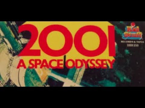 2001: A Space Odyssey presented as a children's read-along book