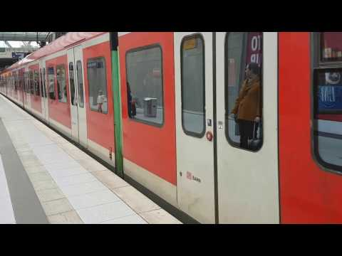 Train Sbahn from cologne bonn airport to cologne HBF S13