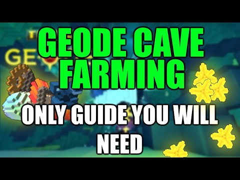 MAKE 3MIL FLUX A DAY | Geode Caves Ore Farming - Trove (Tutorial) How to make a lot of flux | 2020