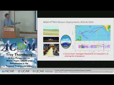 Troy Thornberry: Water Vapor, Clouds and Dehydration in Tropical Tropopause  Layer