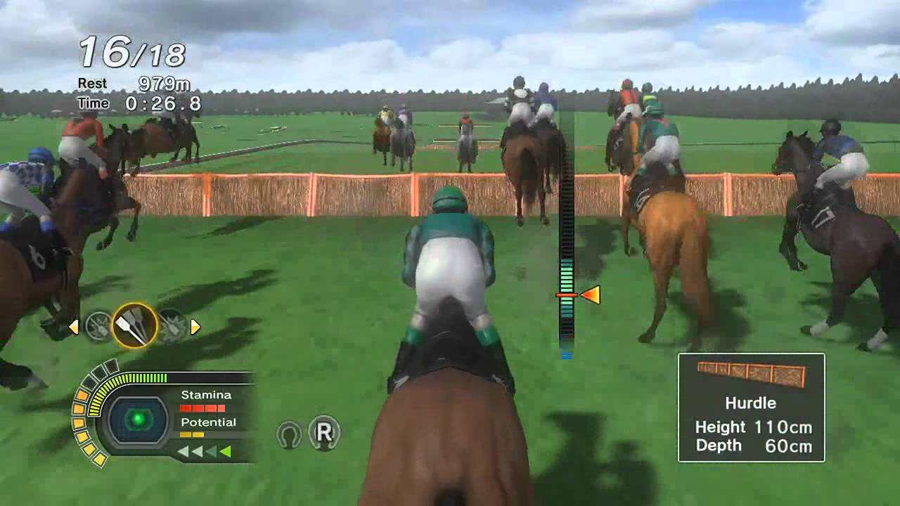 Champion Jockey: G1 Jockey & Gallop Racer for Kinect - E3 ...