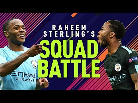 NEYMAR IS A BALLER! | Raheem Sterling Squad Battles | FIFA 18