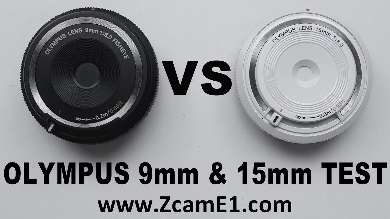 Olympus 9mm Body Cap Lens VS 15 mm Field of View Test With Z Cam E1 -  BCL-0980 vs BCL-1580 FoV - YouTube