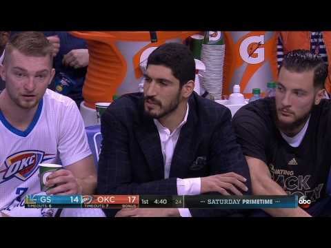 NBA Games of the Year - Golden State Warriors at Oklahoma City Thunder from 02/11/2017