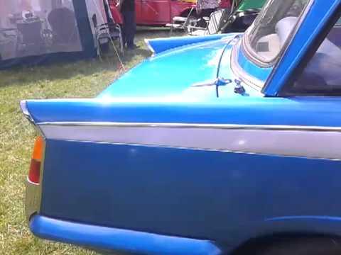 Triumph vitesse at raby castle car show