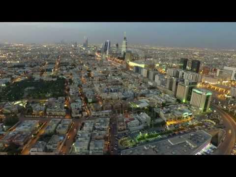Riyadh Aerial 4K