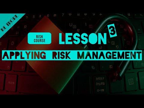 Forex Trading : Lesson 23 Applying Risk Management