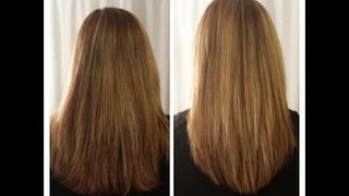 How to Cut Your Own Hair In Long Layers ~  Easy Hair Cut Tutorial