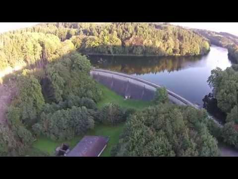 Heilenbecke Talsperre Ennepetal  Aerial Video HD