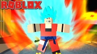 Roblox - O SUPER SAIYAJIN BLUE + KAIOKEN 30X ( DRAGON BALL XENOVERSE BR [BETA] )